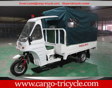 Ambulance three wheel motorcycle for Africa