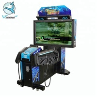 Coin operated simulator arcade gun shooting ghost squad video game machine