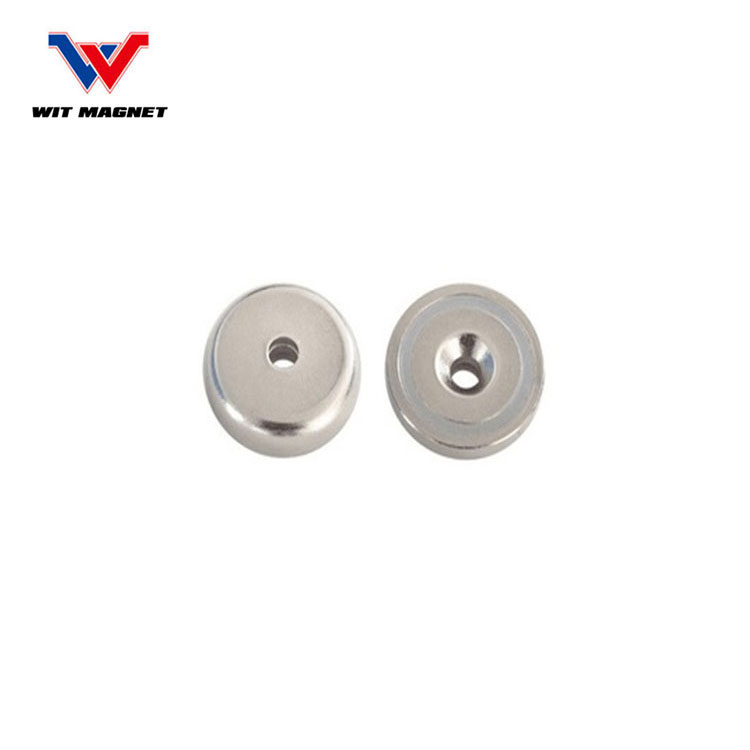 China manufacturer shallow pot magnet,magnet holder with ISO,CE