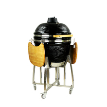 "Extra Large 23.5"" Kamado Egg Style Wood Fired Pizza Oven"