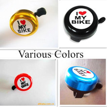 Durable service hot sell 52mm cycling bell with sticker