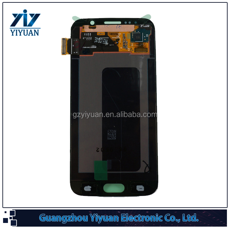 Mobile Phone Replacement LCD for Samsung Galaxy S6 LCD Screen Display