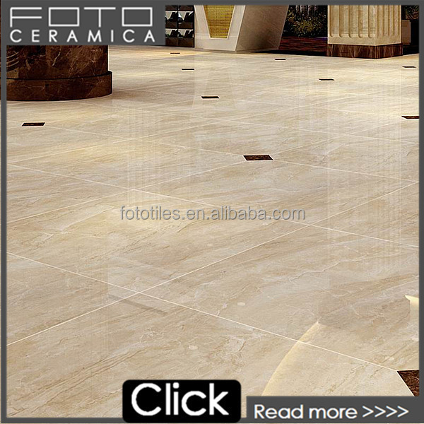 Foshan china bone color low price polished faux china marble tile flooring
