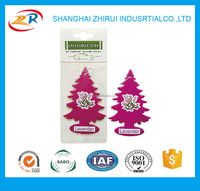 Good quality Christmas tree shape hanging auto air freshener