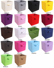 Home furniture colorful collapsible fabric organizer storage box with <strong>paper</strong> holder