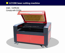GWEIKE LC1390 china suppliers/lace fabric/laser cutting machine