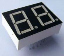 Alphanumeric led display outdoor 1 inch Single Digit Blue LED Display 10 inch 7 segment led display