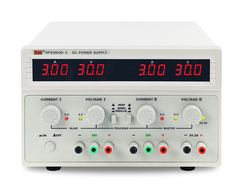 RPS3003D-3 linear DC power supply 30V 3A Dc adjustable stabilized voltage <strong>source</strong> double output with 5V/3A fixed output