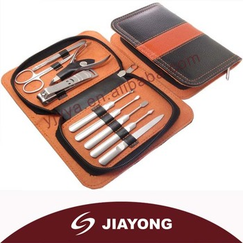 Promotional gifts/ Orange / Box shape /manicure set MH-539
