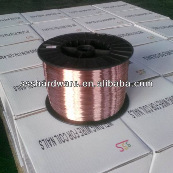 factory supply export to EU soldering wire with coil nails