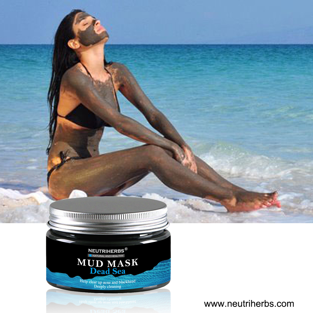 Hot Selling Deep Cleaning Mask Product Beauty Neutriherbs Dead Sea Mud Mask With Hyaluronic Acid For Anti Acne Blackhead