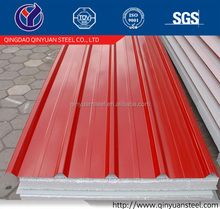 4x8 galvanized sheet metal, coated roofs sheets in coil/gi corrugated roof sheet