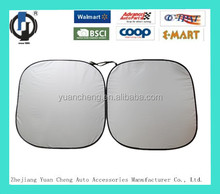 Silver coating spring sunshade prevent from sunshine