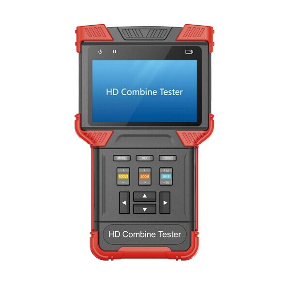 TVI AHD Camera Tester,Multifunction 3-in-1 Tester, CCTV HD Combine Tester