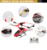 3 Channel toy remote control rc helicopter with gyro