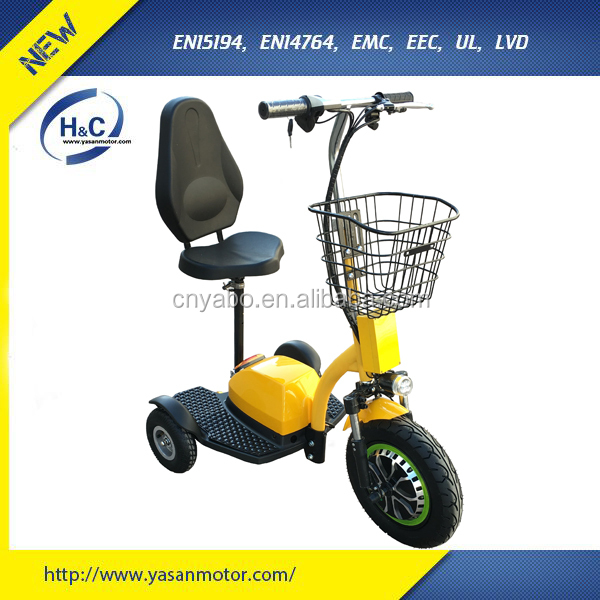 New Suspension zappy electric three wheel scooter three wheel electric mobility scooter