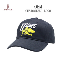 Hot Selling High Quality Cotton Embroidery Baseball Hats Custom Logo