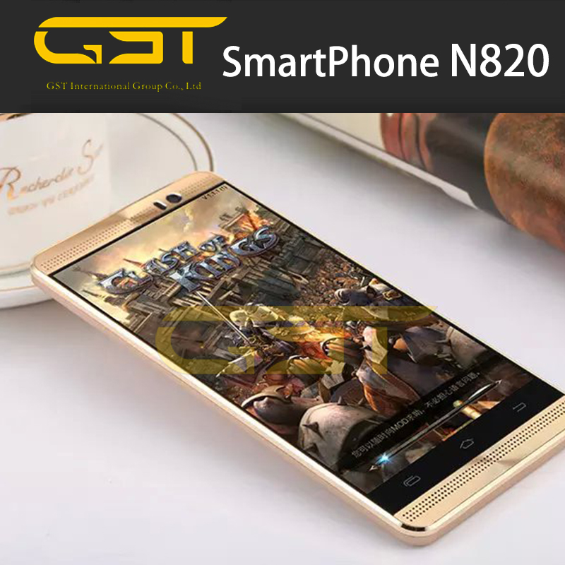 Metal frame 3G China android phone dual sim good but cheap mobile phone n820