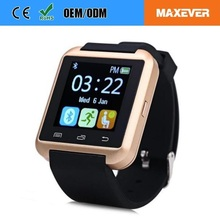 MTK6261 Touch Screen Bluetooth 3.0 Digital ce rohs Smart Watch U8 OEM Smart Watch Phone
