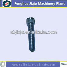 Black steel threaded rod