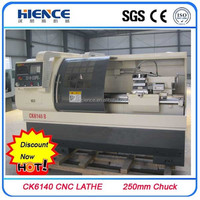 Horizontal CNC lathe machine CK6140 Manufacturer rice and specification