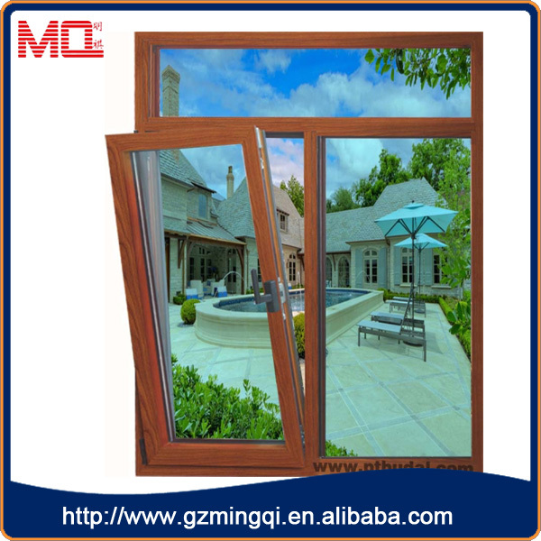 fashionable aluminium window and outward tilt and turn window
