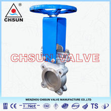 Stainless Steel 316 Water Knife Gate Valve,manual operated, Wenzhou Valve