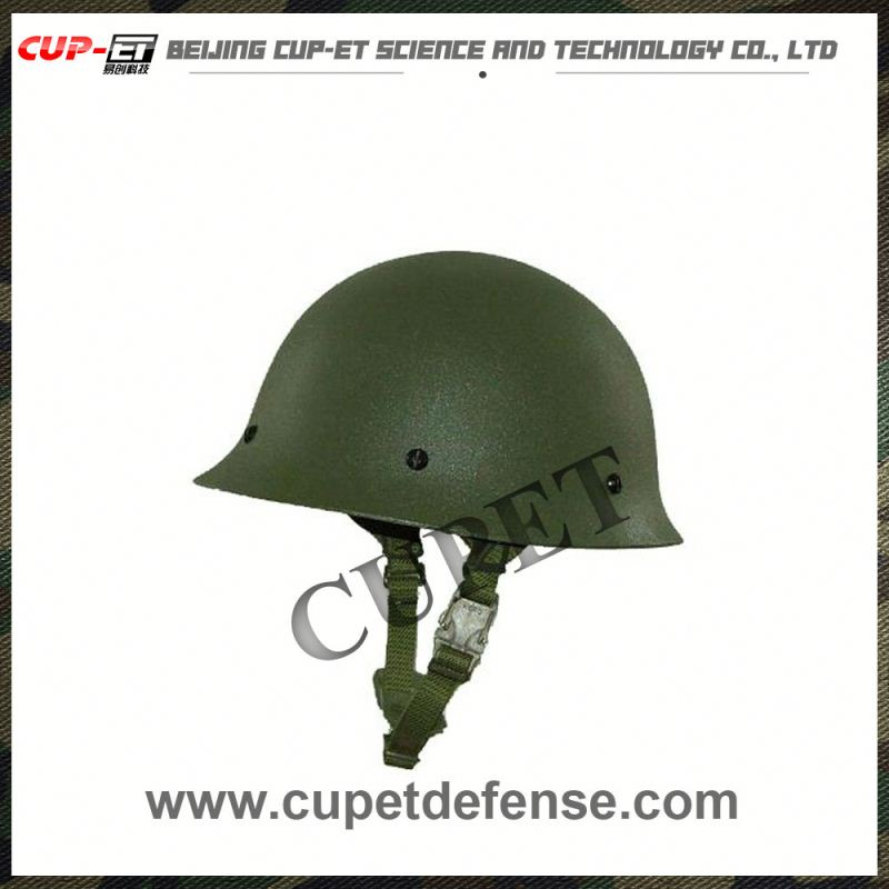 Military head armored bullet-proof steel helmet