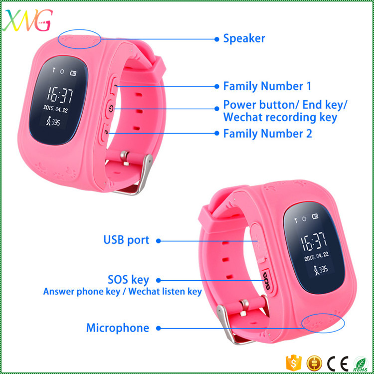 online shopping kids gps tracker bluetooth android cell phone smart watch Q50