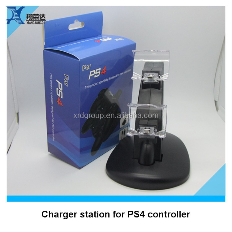 Shenzhen charging stand for ps4 controller charger for ps4 charger, Portable dual port