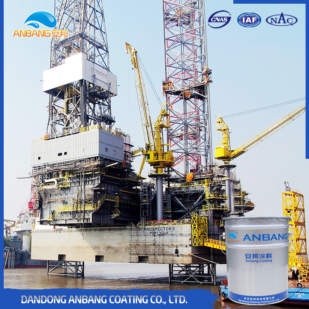 AB362L sea port facilities salt resistant good anti corrosion epoxy zinc rich primer coatings