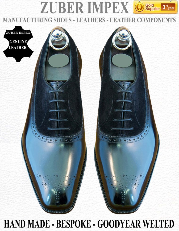 Luxury Handmade / Hand made - Bespoke - Goodyear Welted Shoes - EXCLUSIVE SHOE MANUFACTURER - Leather shoes for men