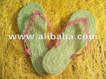 Abaca Slippers