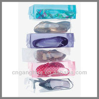 Fashion clear pvc shoe boxes
