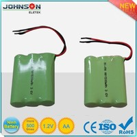 the ni-mh rechargeable 1.2v 600mah 2/3aa ni-mh battery