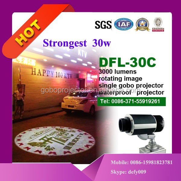 adjustable 8m projection distance led projector lamp