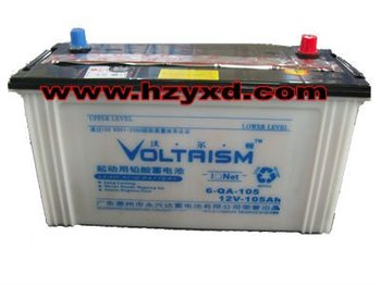 dry lead acid truck start storage battery
