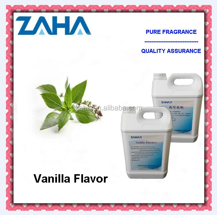 food additive vanillin and vanillin powder flavors in tea