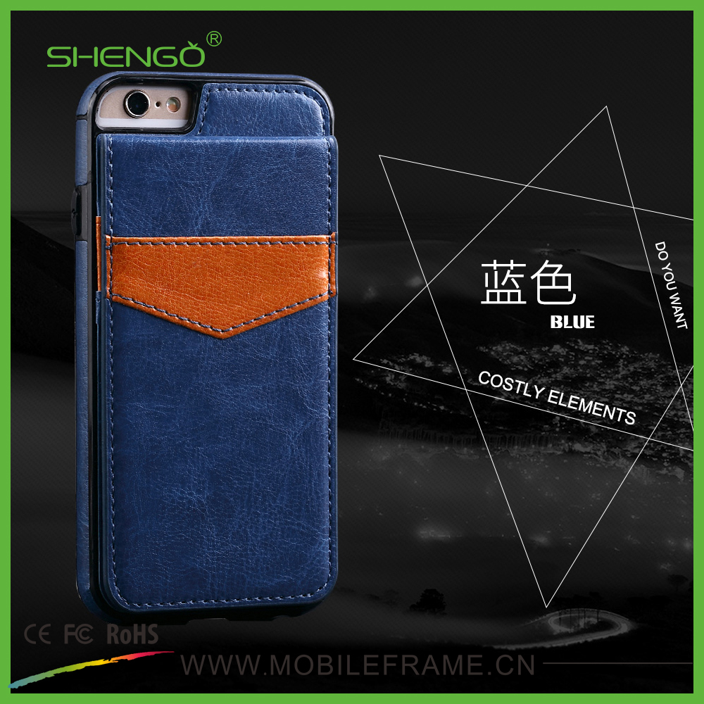Factory Direct Wholesale Card Hold PU Leather Wallet Locked Phone Cover Luxury Cell Phone Cases for samsung galaxy s5