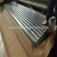 zinc corrugated metal roofing tile used in South America