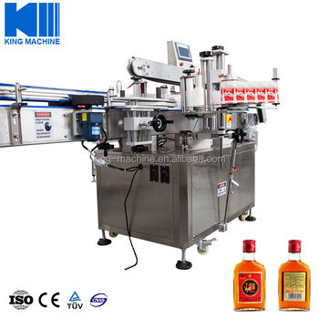 Automatic Stick Labeling Machine for Round Bottles/ Square Bottles/ Flat Bottles