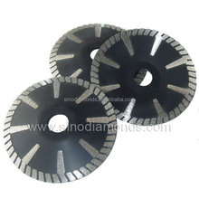 180mm sintered diamond saw blade contour/concave blade for cutting granite and marble