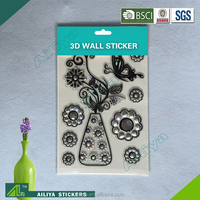 Factory supply custom design self adhesive removable decrative home 3d mobile skin sticker cutter software