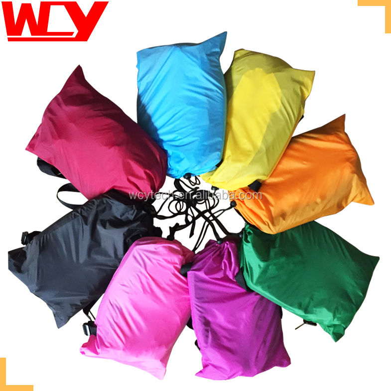 inflatable air sleeping bags Inflatable sofa bed nylon air sofa camping 8 colours sleeping bags