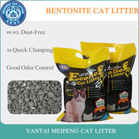 Meipeng clumping bentonite cat litter sand 2019 new wholesale