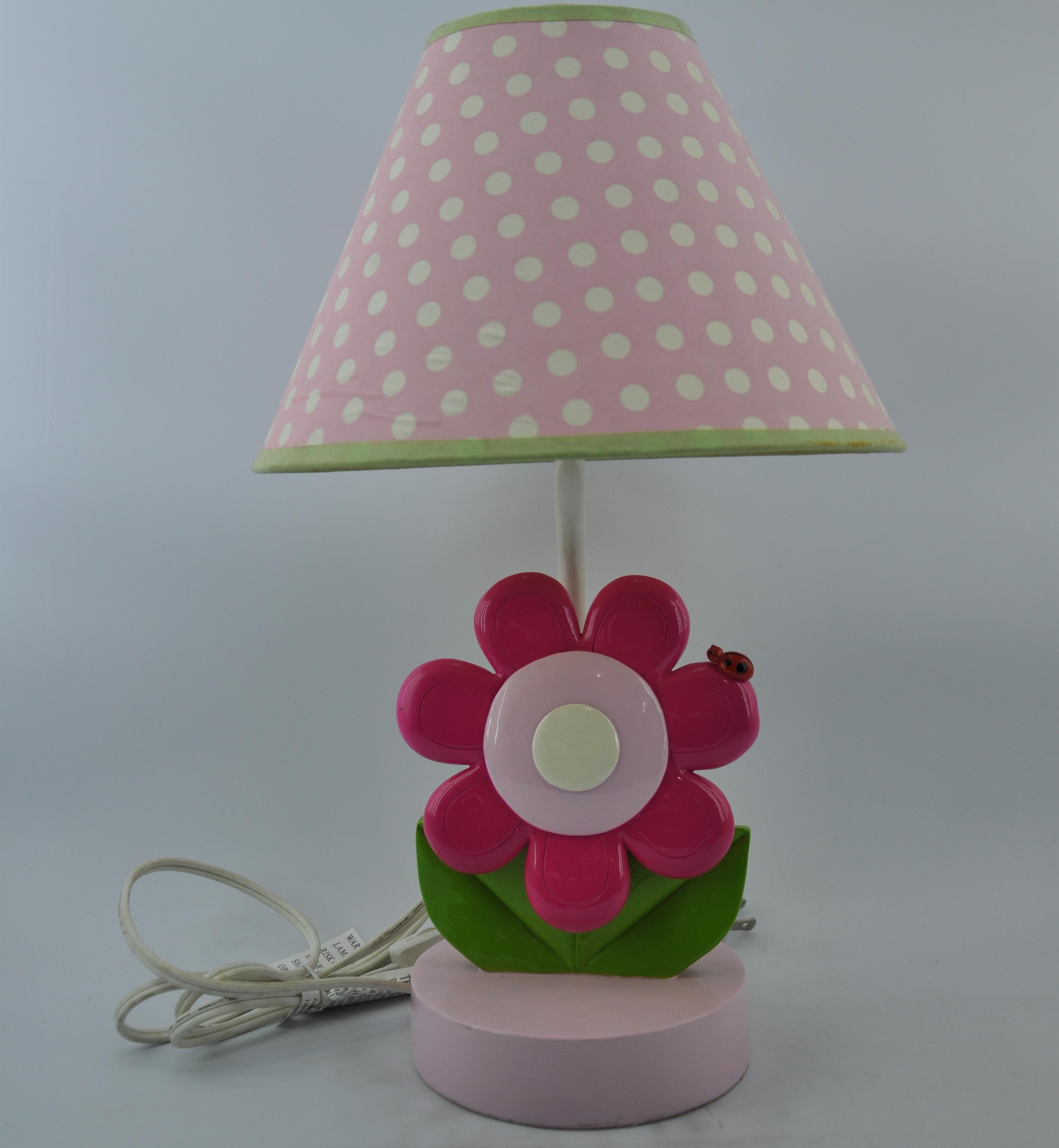 Hot Sale Childrens Gift Pink Sunflower Table Lamp Buy Sunflower