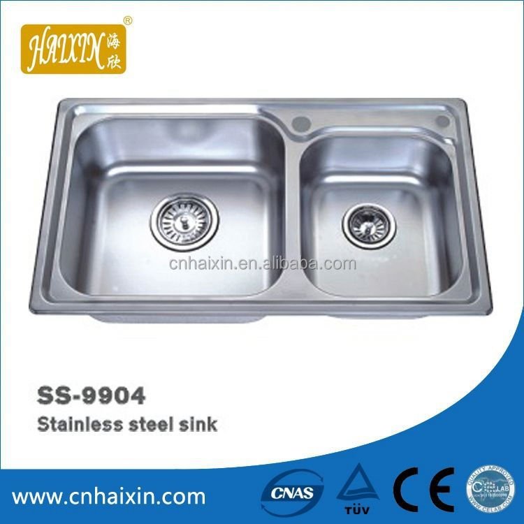 Functional 1.5Mm Thick Stainless Steel Sink