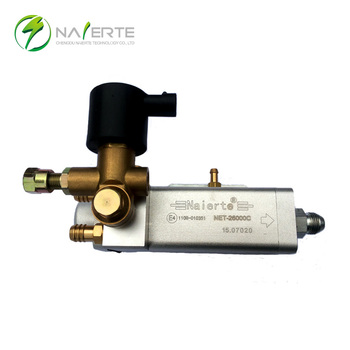 CNG engine sequential system high pressure reducer/regulator for auto conversion kit