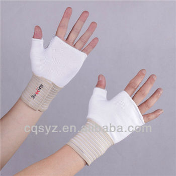 Customized elastic wrist palm support
