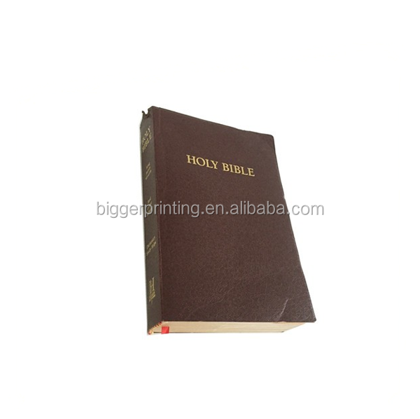 Customized Holy Bible Books Printing in China